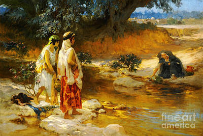 Ramadan Painting - At The Water's Edge by Celestial Images