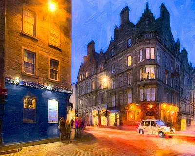 Photograph - At The World's End In Edinburgh by Mark E Tisdale