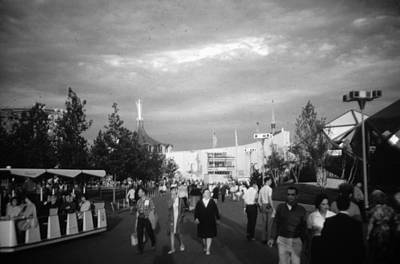 Photograph - At The Worlds Fair by John Schneider