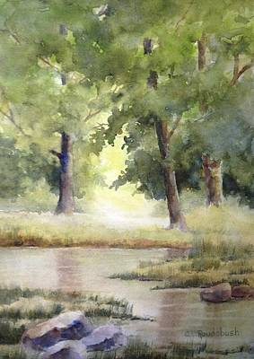 Painting - At Water's Edge by Cynthia Roudebush