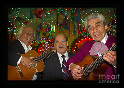 Photograph - Mariachi Christmas by John Stephens