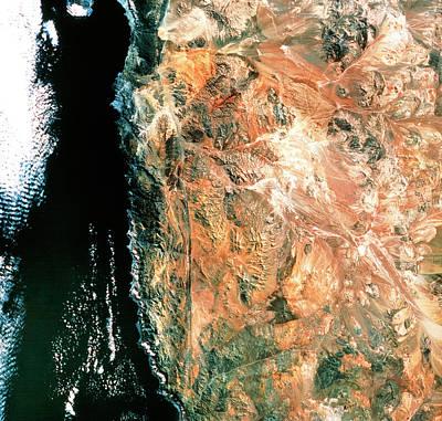Atacama Desert Art Print by Mda Information Systems/science Photo Library