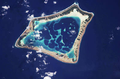 Atoll Photograph - Atafu Atoll by Nasa