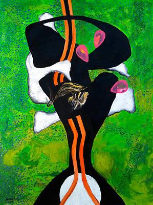 Baselitz Painting - Ataraxia by Antonio Ortiz