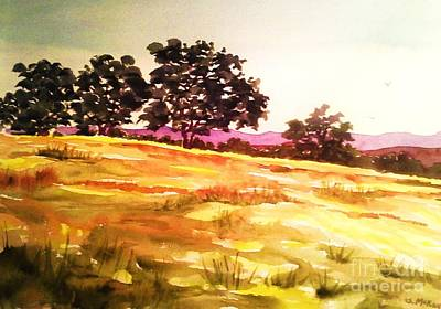 Painting - Atascadero Gold by Suzanne McKay