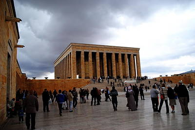 Photograph - Ataturk Mausoleum - Ankara by Jacqueline M Lewis