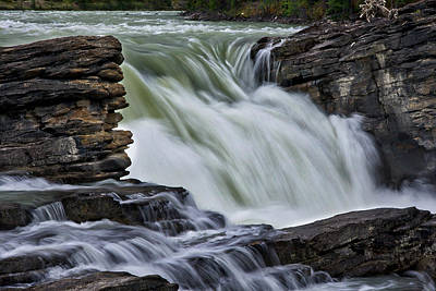 Photograph - Athabasca Falls #2 by Stuart Litoff
