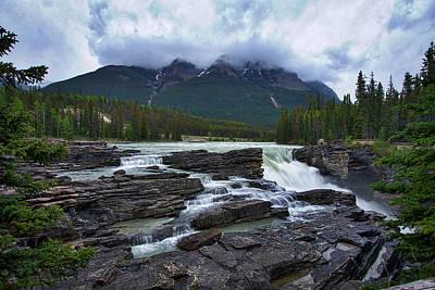 Photograph - Athabasca Falls #3 by Stuart Litoff