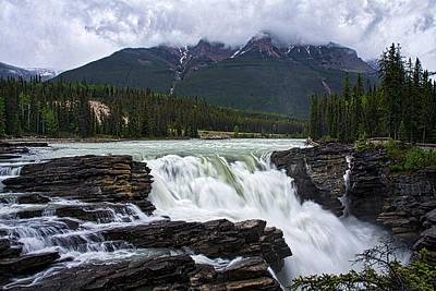 Photograph - Athabasca Falls #4 by Stuart Litoff