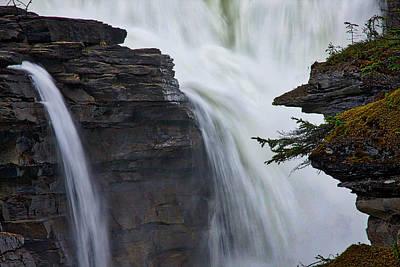 Photograph - Athabasca Falls #5 by Stuart Litoff