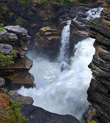 Photograph - Athabasca Falls #6 by Stuart Litoff