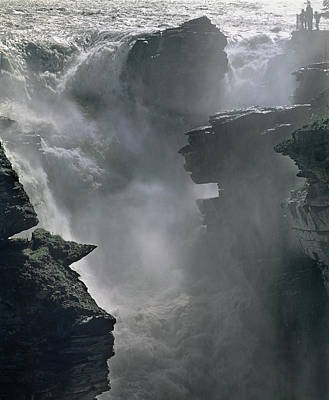 Photograph - 1m3816-e-athabasca Falls by Ed  Cooper Photography