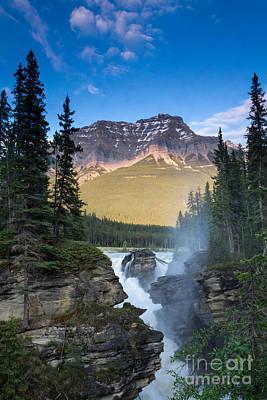 Photograph - Athabasca Falls by Lori Dobbs