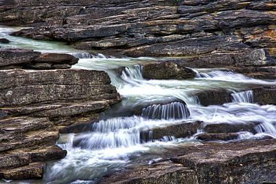 Photograph - Athabasca Falls by Stuart Litoff