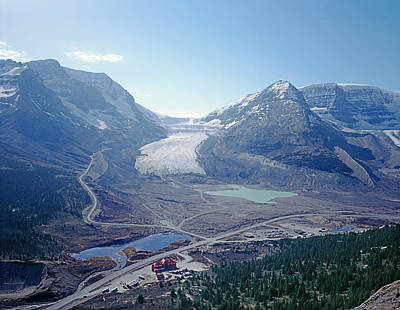 Photograph - 1m3735-athabasca Glacier by Ed  Cooper Photography