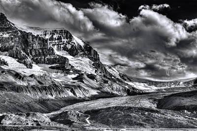 Photograph - Athabasca Glacier by Wayne Sherriff