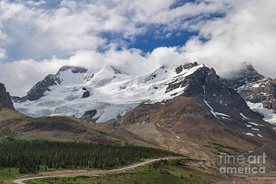 Photograph - Athabasca North Glacier by Charles Kozierok
