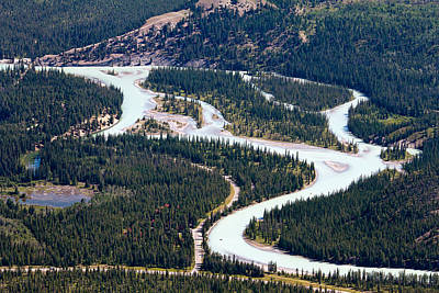Photograph - Athabasca River by Phil Stone