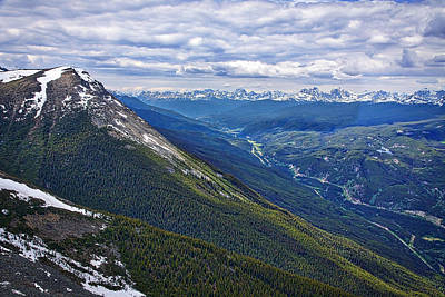Photograph - Athabasca River Valley - Jasper by Stuart Litoff
