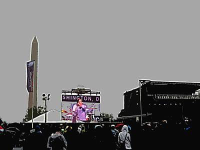 Washington Monument Digital Art - Atheists On The Mall by MJ  Snycheck