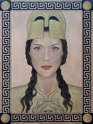 Painting - Athena by Lynet McDonald