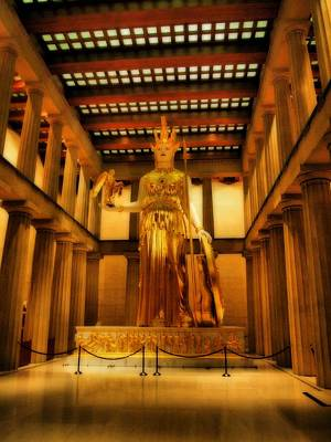Nashville Tennessee Photograph - Athena Parthenos by Dan Sproul