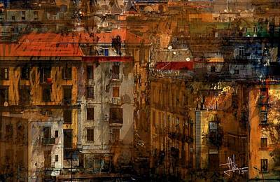 Photograph - Athens Cityscape 1 by Jim Vance