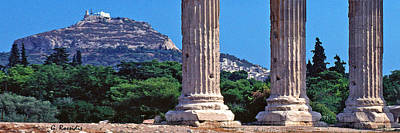 Ancient Photograph - Athens by George Rossidis