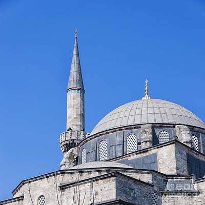 Atik Ali Pasha Mosque 01 Art Print by Antony McAulay