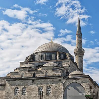 Atik Ali Pasha Mosque 02 Art Print by Antony McAulay