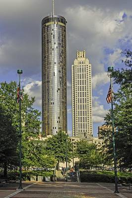 Photograph - Atlanta Centennial Olympic Park by Willie Harper