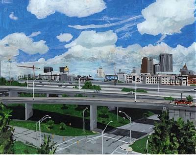 Atlanta Cityscape Original