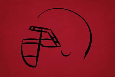 Atlanta Falcons Wall Art - Photograph - Atlanta Falcons Helmet by Joe Hamilton