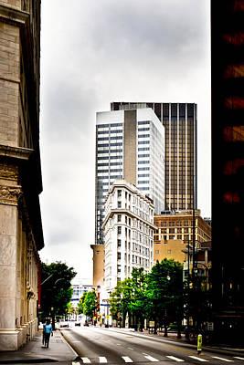 Photograph - Atlanta Flatiron by Mark E Tisdale