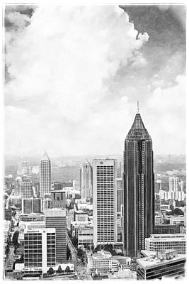 Photograph - Atlanta From Above by Mark E Tisdale