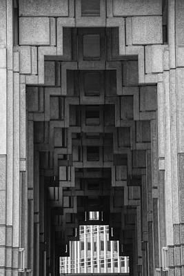 Atlanta Ga Architecture-city Building Art Print by Douglas Barnard