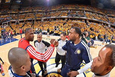 Photograph - Atlanta Hawks V Indiana Pacers - Game by Jesse D. Garrabrant