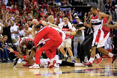 Photograph - Atlanta Hawks V Washington Wizards - by Rob Carr