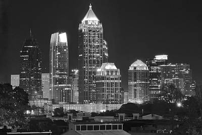 Photograph - Atlanta Lights Up by Frozen in Time Fine Art Photography