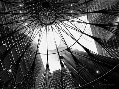 Photograph - Atlanta Marriott Marquis Atrium by Cleaster Cotton
