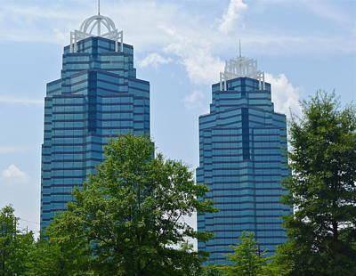 Photograph - Atlanta Office Buildings by Denise Mazzocco