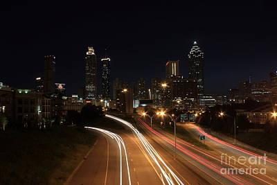 Photograph - Atlanta Eastside Timelapse by Reid Callaway