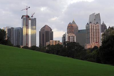Photograph - Atlanta Skyline At Sunrise by Willie Harper