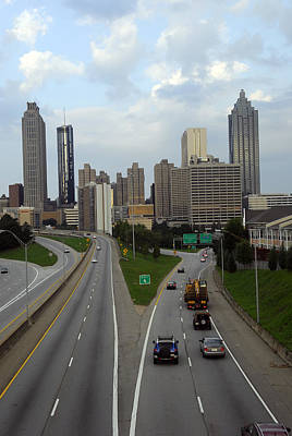 Photograph - Atlanta Skyline Early Morning by Willie Harper