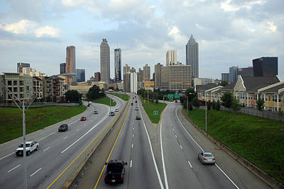 Photograph - Atlanta Skyline In Early Morning by Willie Harper