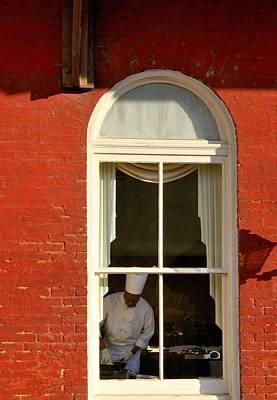 Window Photograph - Atlanta Underground by Steven Richman