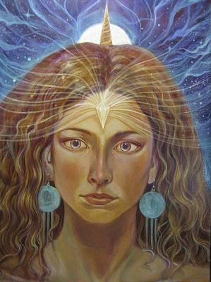 Inner Self Painting - Atlantia by Vera Atlantia
