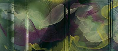 Atlantian Scarves Art Print