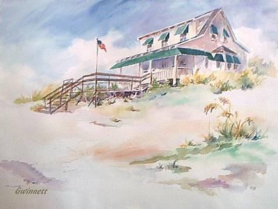 Painting - Atlantic Beach by Kathleen  Gwinnett