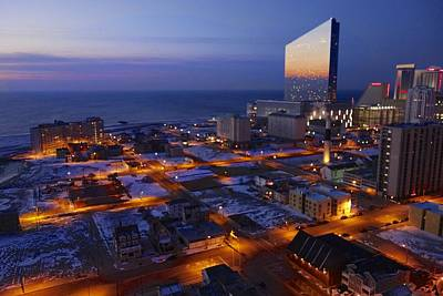 Photograph - Atlantic City At Dawn by Joan Reese